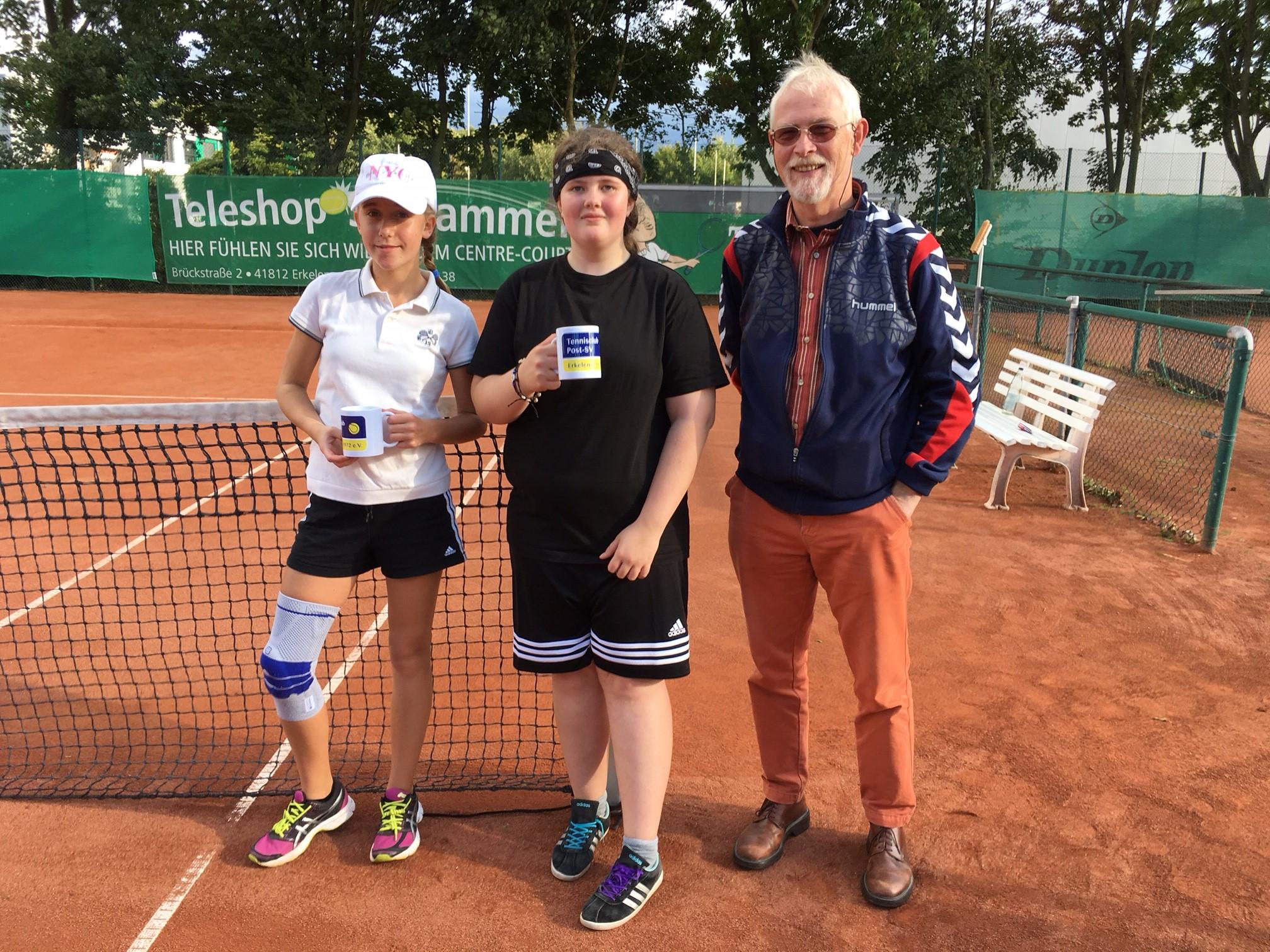v.l. Emily Wink, Hanna Lehmann-Weingärtner, Rüdiger Röttger