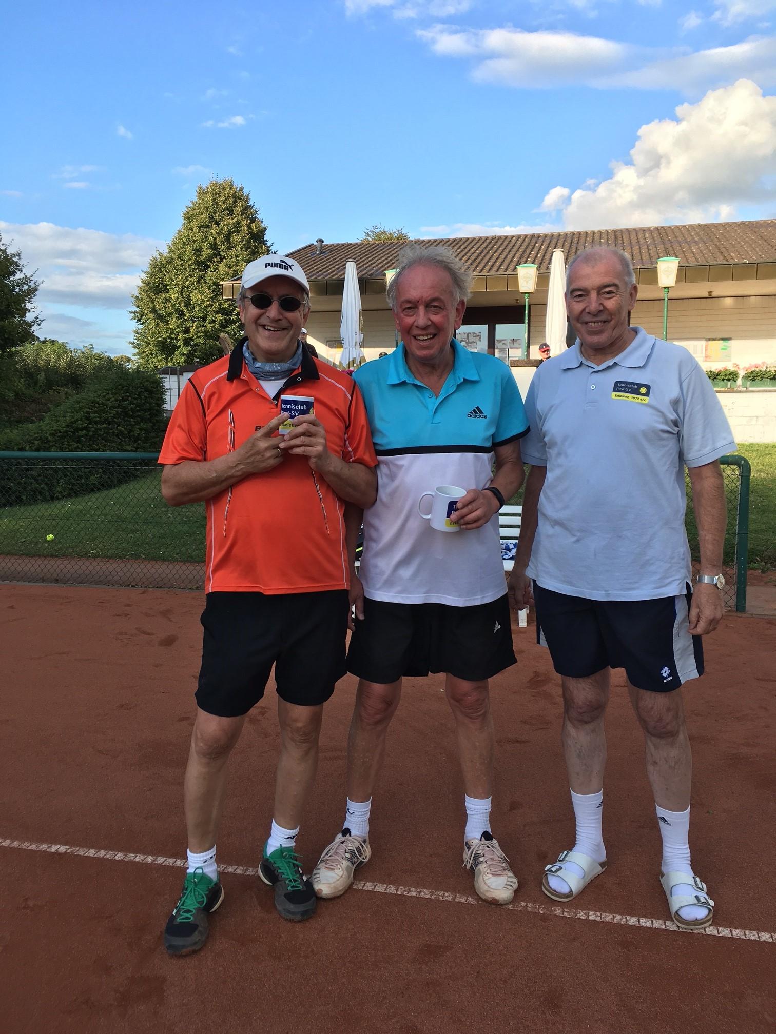 v.l. Dietmar Hülser, Robert Hübgend, Gerd Lochten